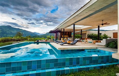 Country House In Colombia by Exquisite Country House In Villeta Colombia