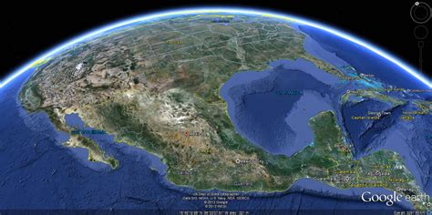 Mexico Climate Map
