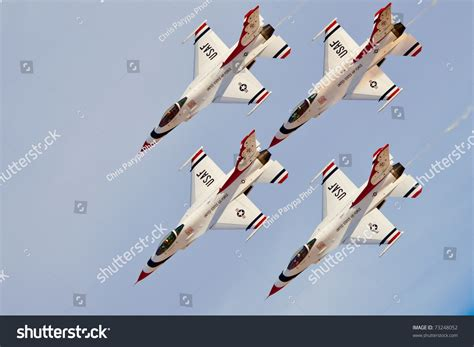 las vegas november  usaf thunderbirds stock photo