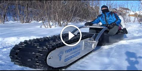 No More Snow Problems With The Mtt136 Electric Sled