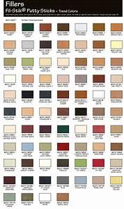 Mohawk Fil-Stik Putty Sticks Trend Colors