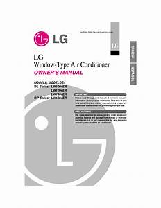 Download Free Pdf For Lg Lw1811er Air Conditioner Manual