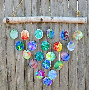 Diy, Hand, Painted, Wind, Chimes