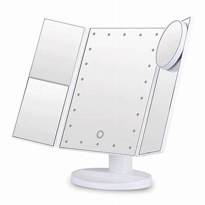 Mirror Makeup Led Mirrors Touch Screen Magnifying