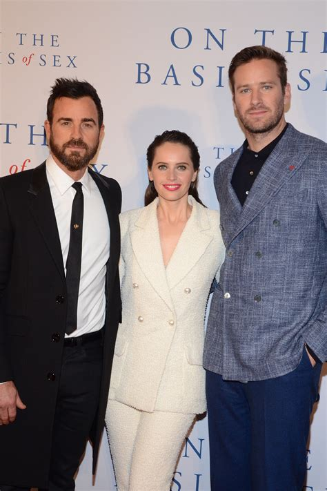 Felicity Jones And Armie Hammer Attend The Premiere Of On