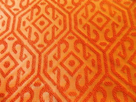 Pottery Barn Mitchell Gold Fabric Terra Tangerine