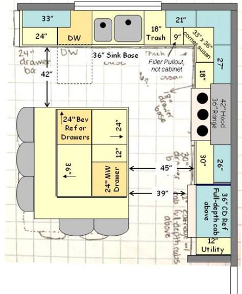 size of kitchen island with seating help with kitchen layout fresh ideas for a build