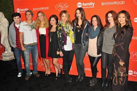 PLL Cast - PLL & Ravenswood Screening Premiere   Pretty ...