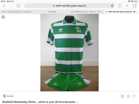 New GREEN away kit - Page 10 - Sheffield Wednesday ...