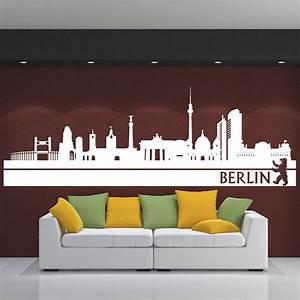 Berliner Online Shops : skyline wandtattoo berlin sunnywall online shop ~ Markanthonyermac.com Haus und Dekorationen