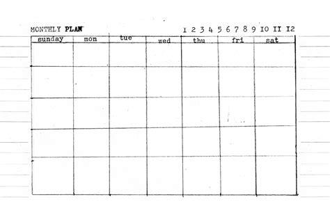 day week month    templates amanda hawkins