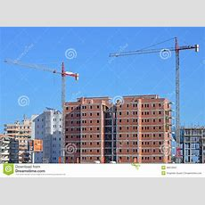 A Spanish Construction Site Editorial Photography  Image 46010947
