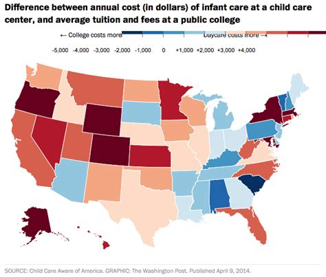what is the average cost of preschool report wisconsin child care more costly than college 397