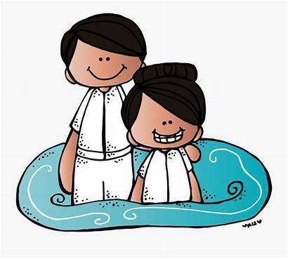 Lds Baptism Clipart Boy Graphics Alone Vector