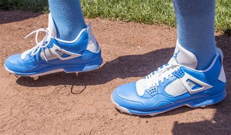 david price wears special air jordan  baseball cleats