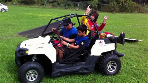 mini utv carmonax com pitsterpro utv mini mula150cc test ride youtube