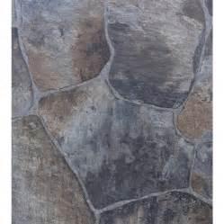 shop tarkett 12 ft w brown blue low gloss finish sheet vinyl at lowes com
