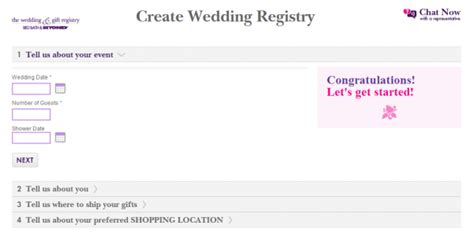 best online wedding registry how to create a wedding registry for the top retail stores
