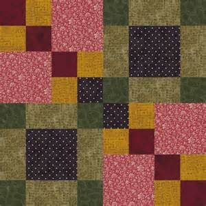 Four Square Quilt Block Pattern