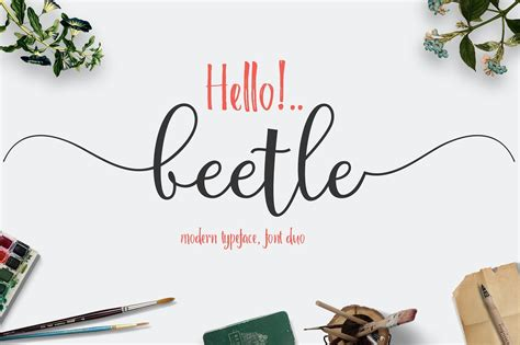 Made Goods Furniture by Beetle Fontduo Script Fonts Creative Market