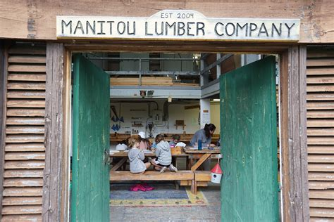 woodworking camp manitou