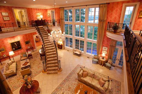 million dollar entry room traditional living room cincinnati  rvp photography