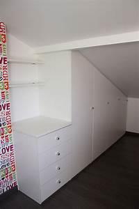 Commode Sous Pente : plak 39 art installateur de placard sous pente annecy ~ Edinachiropracticcenter.com Idées de Décoration