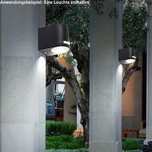 Gartenschrank Für Den Außenbereich : rgb led down wandlampe aus alu f r den au enbereich ~ Michelbontemps.com Haus und Dekorationen