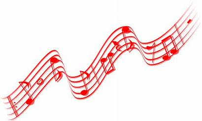Notes Border Musical Gold Clip Christmas Note