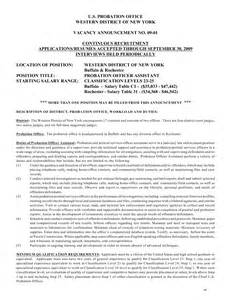 Probation Officer Resume Cover Letter by Free Sle Auditor Resume Interpersonal Communication Research Paper Ideas A Sle Resume For