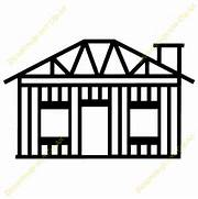 House Construction Clipart   Clipart Panda - Free Clipart Images  Construction House Clip Art Black And White