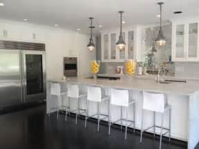 mirrored herringbone backsplash contemporary kitchen