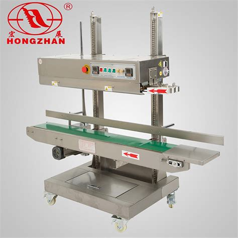china horizontal  vertical continuous impulse heat sealing machine  compound pocket bag