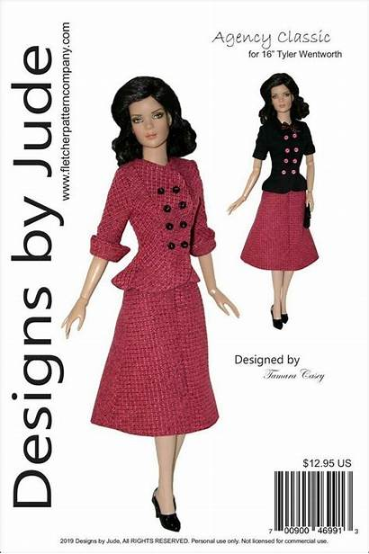 Wentworth Tyler Clothes Doll Dolls Sewing Pattern