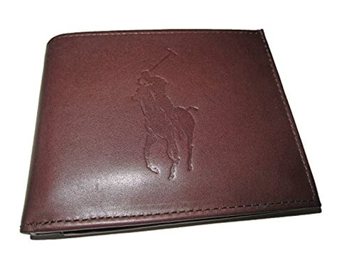 Polo Ralph Lauren Men's Big Pony Passcase Wallet (brown Business Cards Printing Warehouse Stationery Sample Plan Wine Store Handicrafts University Card Dimensions Dpi Plans For Transportation Company Letter Example Of Request Making A