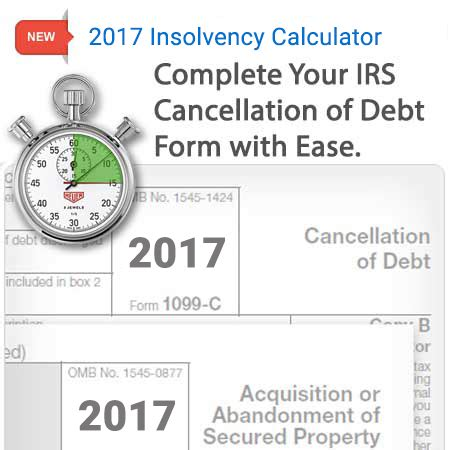 form  insolvency calculator zipdebt debt relief