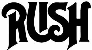 Rush Old Logo Rub-On Sticker - Black Within Tab Window reviews