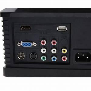 Videoprojecteur Lumens Plein Jour : vid oprojecteur led 95w 2800 lumens full hd 1080p home cinema noir ~ Melissatoandfro.com Idées de Décoration