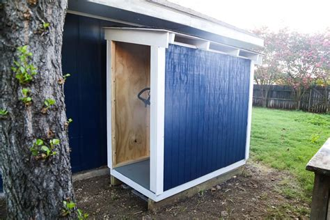lawn tractor shed diy lawn mower shed and easy diy renovations 3685