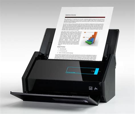 Fujitsu ScanSnap ix500 Review: Powerful and Fast