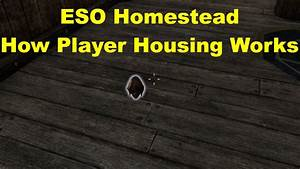 ESO Homestead: Tutorial - YouTube