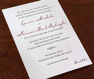 wedding invitation wording dress codes letterpress With wedding invitations wording formal attire