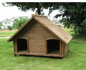 hundehutte selber bauen super ideen With dual dog house