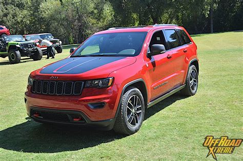 jeep cherokee trailhawk red time on the trail with the 2017 jeep grand cherokee trailhawk