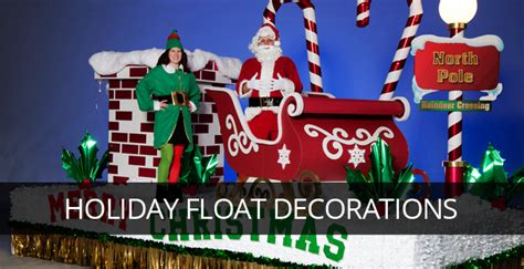 holiday parade float decorations