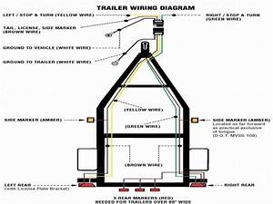4 Wire Trailer Wiring Diagram For Lights