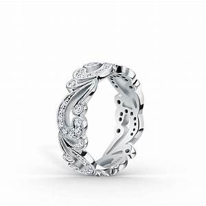 platinum diamond wedding bands for women by kirk kara With platinum diamond wedding rings for women