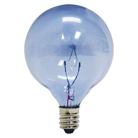 reveal light bulbs ge reveal 40 watt incandescent g16 5 globe candelabra base