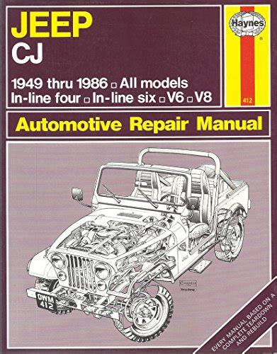 what is the best auto repair manual 1986 ford ltd security system ebook pdf jeep cj automotive repair manual 1949 1986 by larry warrens john haynes