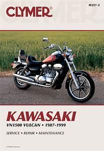 Kawasaki Vulcan 1500 Motorcycle  1987